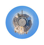 Panorama of St Peter Square in Rome, Italy royalty free stock photos