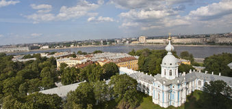 Panorama of St-Petersburg Stock Photo