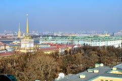 Panorama of St. Petersburg, bird's-eye view Stock Photo