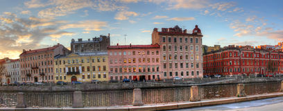 Panorama of St. Petersburg, Russia Stock Photography