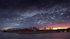 Panorama of St. Petersburg, St. Petersburg, Russia Stock Image