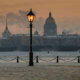 Panorama of St. Petersburg Stock Photography