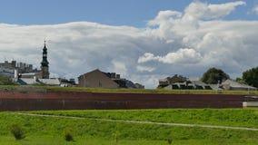 Panorama stary miasteczko ZamoÅ› Ä ‡ fotografia royalty free