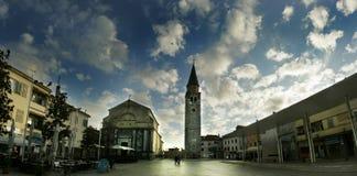 panorama stary piazza Zdjęcia Stock