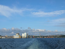 panorama Stavanger Obraz Stock