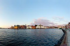 Panorama of Stavanger Stock Image