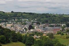 Panorama Stavelot Imagen de archivo