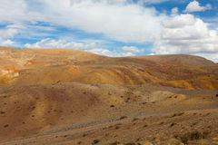 Panorama of the steppe Stock Images