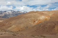Panorama of the steppe Royalty Free Stock Photos