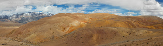Panorama of the steppe Royalty Free Stock Images