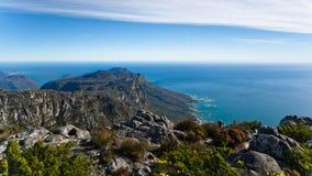 Panorama Stołowy widok górski Obraz Stock