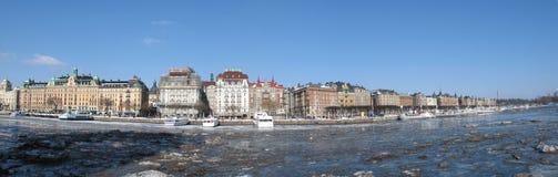 panorama Stockholm zdjęcie stock
