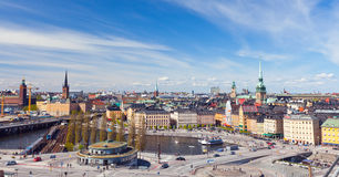 Panorama of Stockholm, Sweden. This is Panorama of Stockholm, Sweden Stock Image