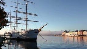 panorama stockholm sweden lager videofilmer