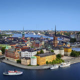 Panorama of Stockholm, Sweden. Panorama photo of Stockholm, Sweden Royalty Free Stock Image