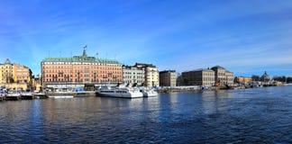panorama- stockholm sweden sikt arkivfoton