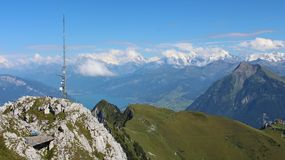 Panorama from the Stockhorn Stock Photos