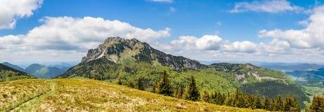 Panorama of Stony Big Rozsutec hill - Slovakia Stock Photography