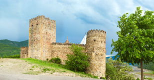 Panorama of stronghold near Tbilisi, Georgia Stock Photo