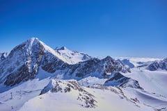 Panorama Stubai Glacier Stock Images