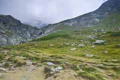 Panorama stupefacente della montagna di Rila Fotografia Stock Libera da Diritti