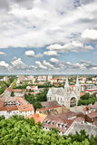 Panorama of Subotica Stock Photos