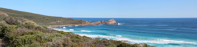 Panorama of Sugar Loaf Rock Royalty Free Stock Photography