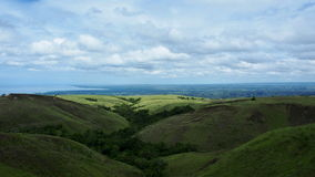 Panorama of Sumba Island Royalty Free Stock Images