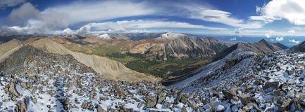 Mount Tabeguache Summit Panorama Royalty Free Stock Photos