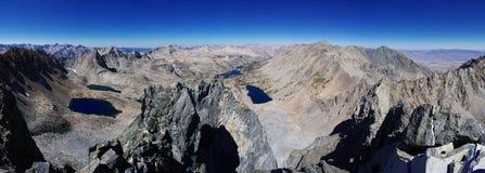 Panorama superior da montanha fotos de stock