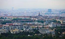 Panorama sur Vienne photo stock