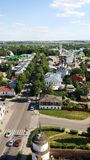 Panorama Suzdal. Stock Photo