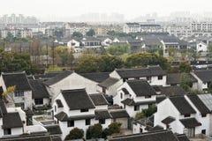 Panorama of Suzhou, China Royalty Free Stock Photos