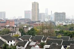 Panorama of Suzhou Royalty Free Stock Photo