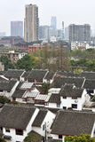 Panorama of Suzhou Royalty Free Stock Photos