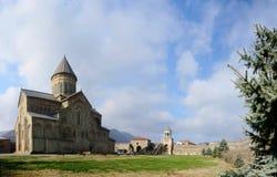 Panorama of Svetitskhoveli Cathedral in Mtskheta,Georgia Stock Photo