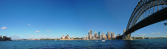 Panorama of Sydney, Australia Royalty Free Stock Image