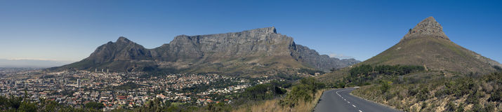 Panorama of Table Mountain Stock Image