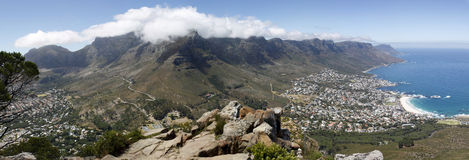 Panorama Table Mountain Stock Photography