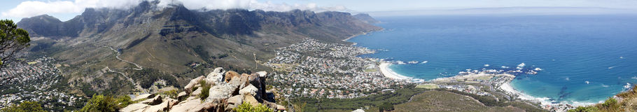 Panorama Table Mountain Stock Photo