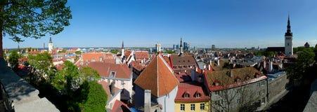 panorama Tallin zdjęcia stock
