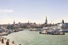 Panorama of Tallin, Estonia Stock Photos