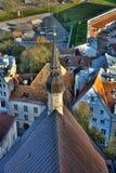 Panorama Of Tallinn. Stock Photo
