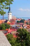 Panorama Of Tallinn Stock Photo
