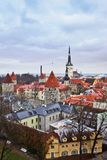 Panorama of Tallinn, Estonia, Europe Stock Photography