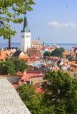 Panorama Of Tallinn. Royalty Free Stock Image