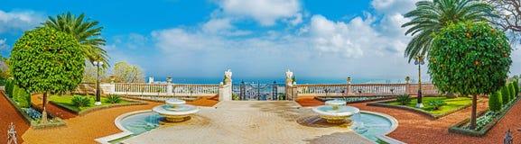 Panorama taras Zdjęcie Royalty Free