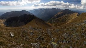 Panorama of Tatra Mountains royalty free stock images