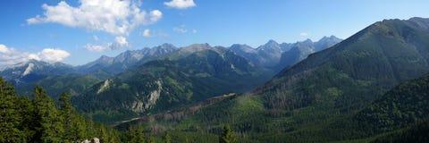 Panorama of the Tatras Stock Image