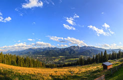 Panorama of the Tatras Royalty Free Stock Image